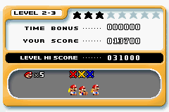 Mario vs. Donkey Kong - Not my BEST score! - User Screenshot